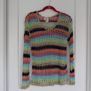 EUC: Sperry Open Knit Sweater. Sz S